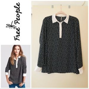 Free People Horse Print Blouse✨
